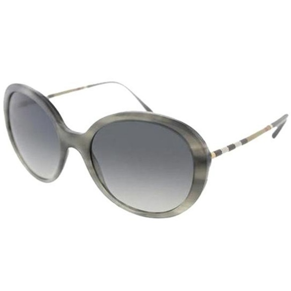 Burberry Accessories - Burberry Round Style Grey Polarized Lens